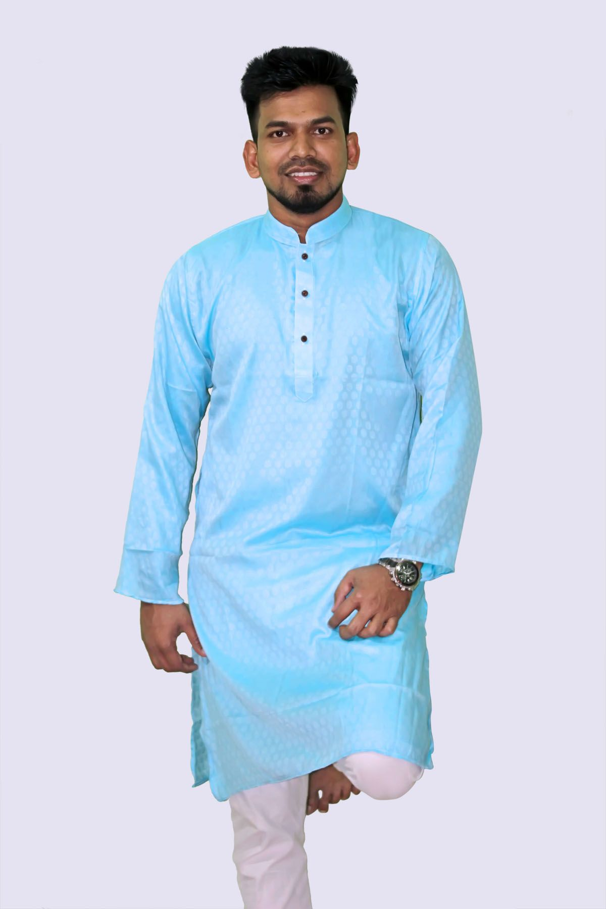 Fashionable Semi Long Panjabi For Men PN 003-1SMACK
