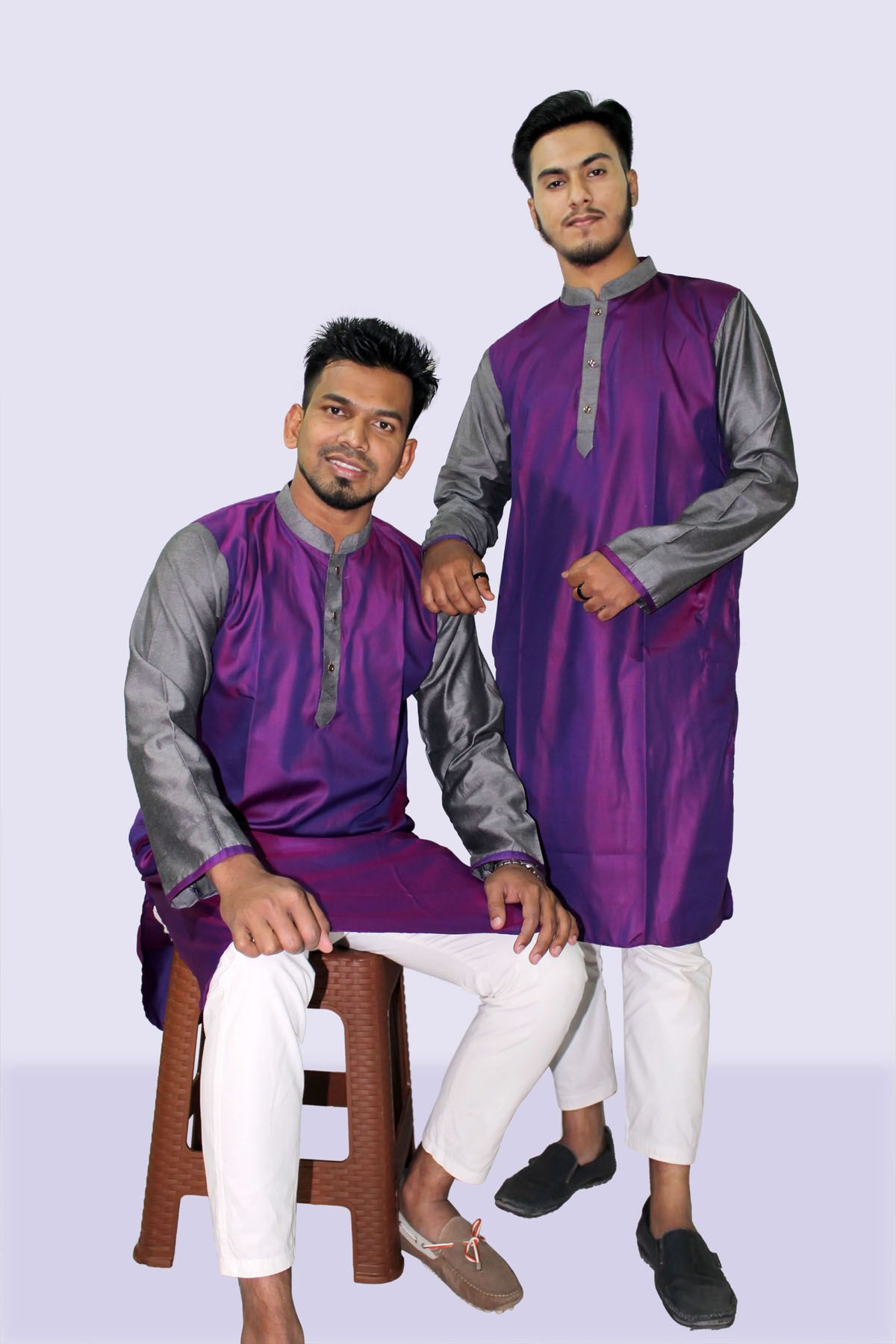 Fashionable Semi Long Panjabi For Men PJ006-1SMACK